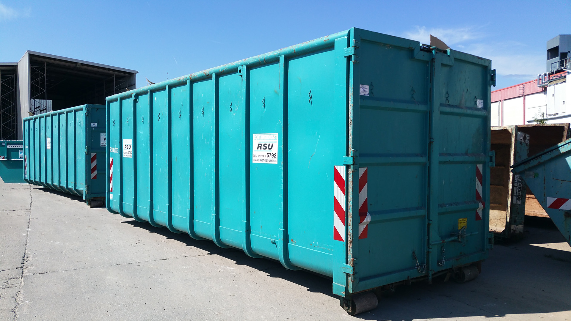 Abrollcontainer 38 m³